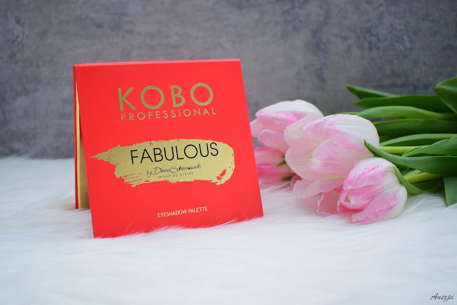 Paleta cieni Fabulous by Daniel Sobieśniewski, Kobo Professional