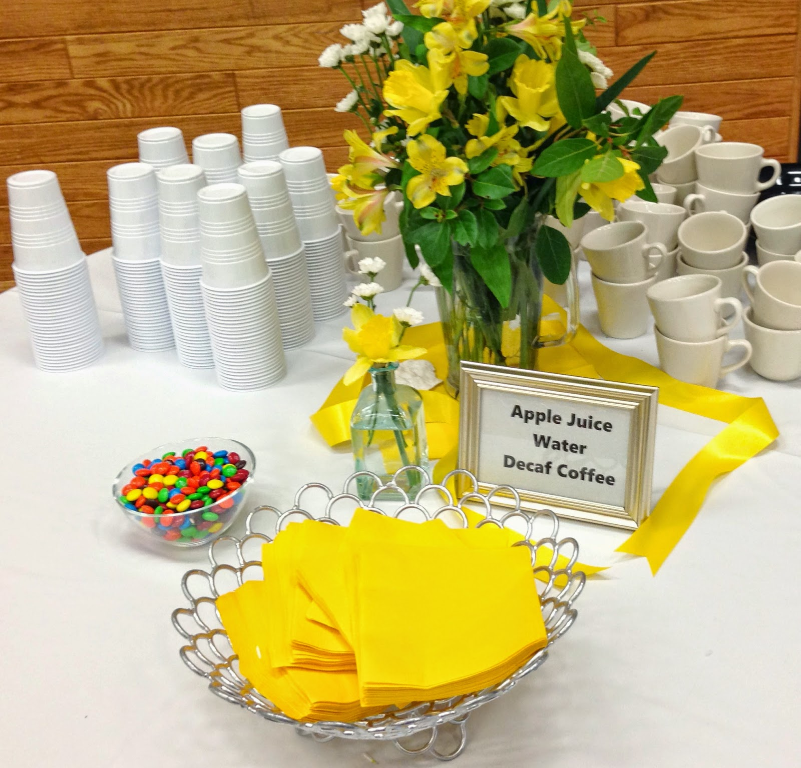 Michelle Paige Blogs: Decorating For A Celebration Of Life