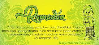 Marhaban Yaa Ramadan