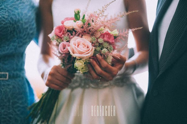 ramos de novia con rosas