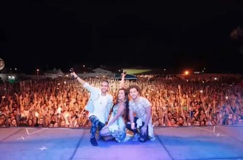 #VIBEZINHA NA PRAIA:  Show da banda Melim levou uma multidão ao Hotel Dunas em Tibau/RN