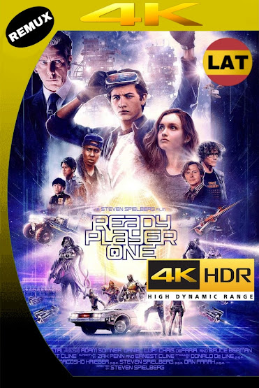 READY PLAYER ONE 2018 LATINO UHD 4K HDR BDREMUX 2160P MKV