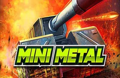 لعبة الدبابات الصغيرة Mini Metal