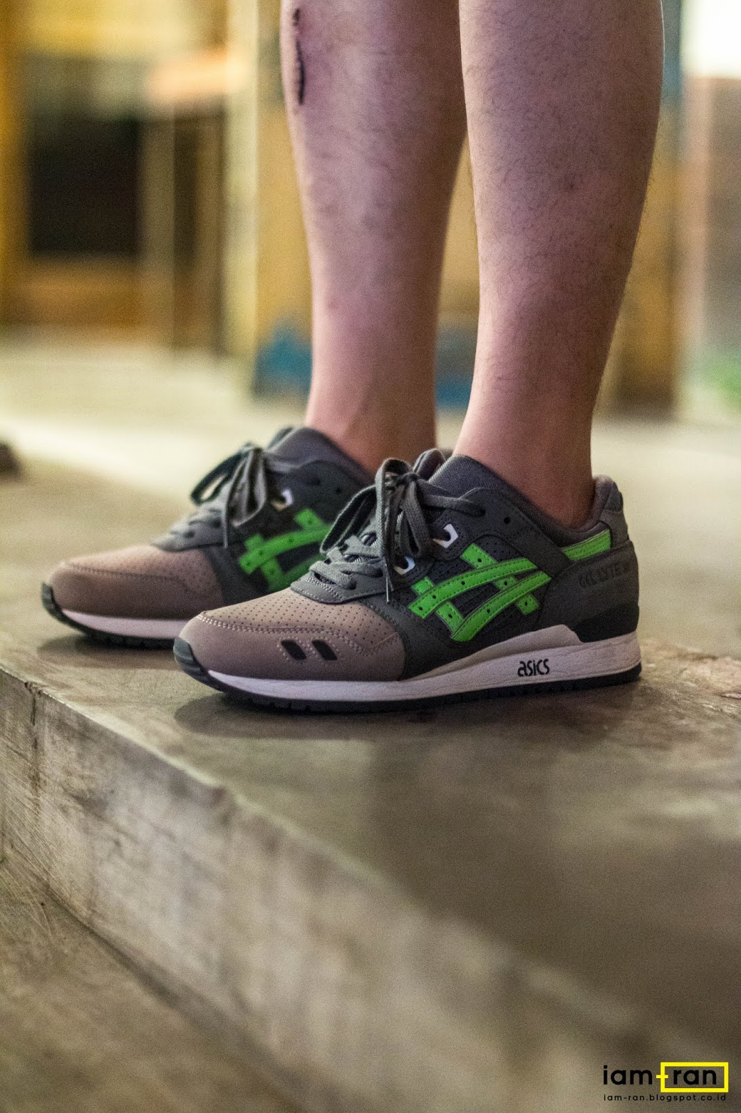 competitive price a6829 28f95 IAM-RAN: ON FEET : Dimas indro - Asics Gel Lyte 3 x Kith X ...