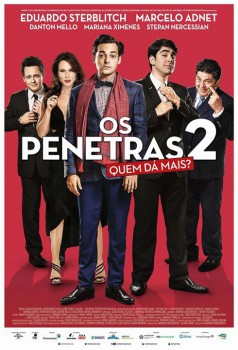 Capa do Filme Os Penetras 2: Quem Dá Mais?