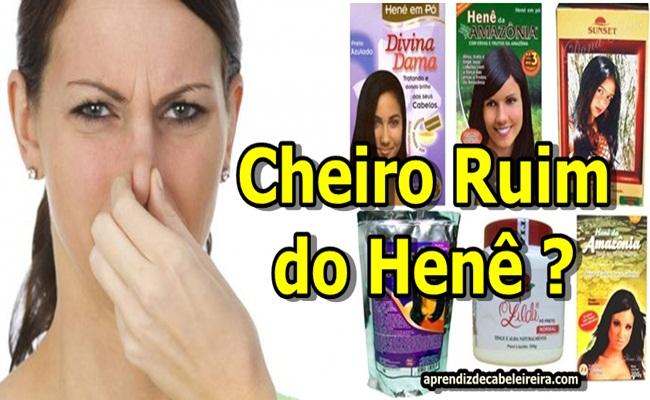 CHEIRO DE HENÊ dos CABELOS