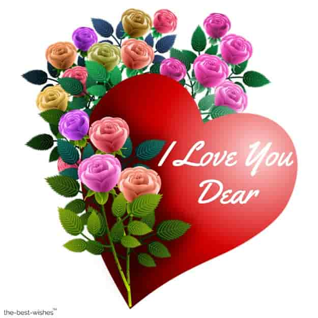 i love you dear