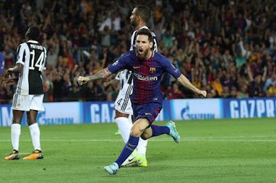 Barcelona Menang Telak Saat Menjamu Juventus
