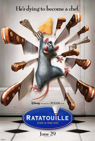 Poster of Ratatouille 2007 720p Hindi BRRip Dual Audio Full Movie Download