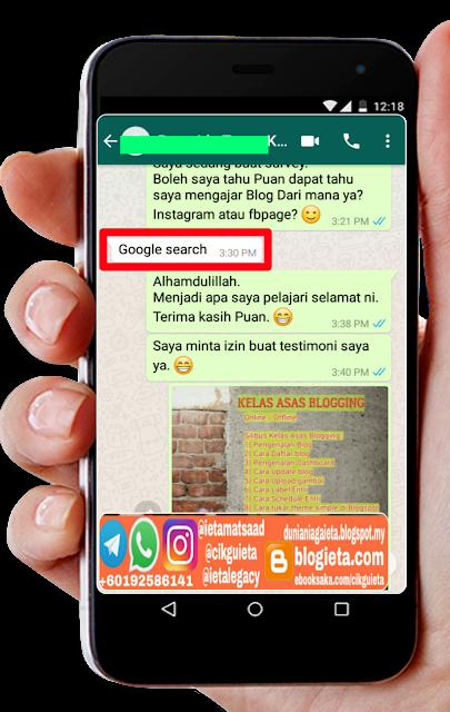 Tips suri rumah buat duit online, Testimoni Cikgu ieta, Testimoni Blogger, Testimoni Malaysia, Testimoni Kelas Asas Blogging, Terapi Blogging, Terapi Instagram, Super 100k, Lifestyle Blogger, Blogger Malaysia