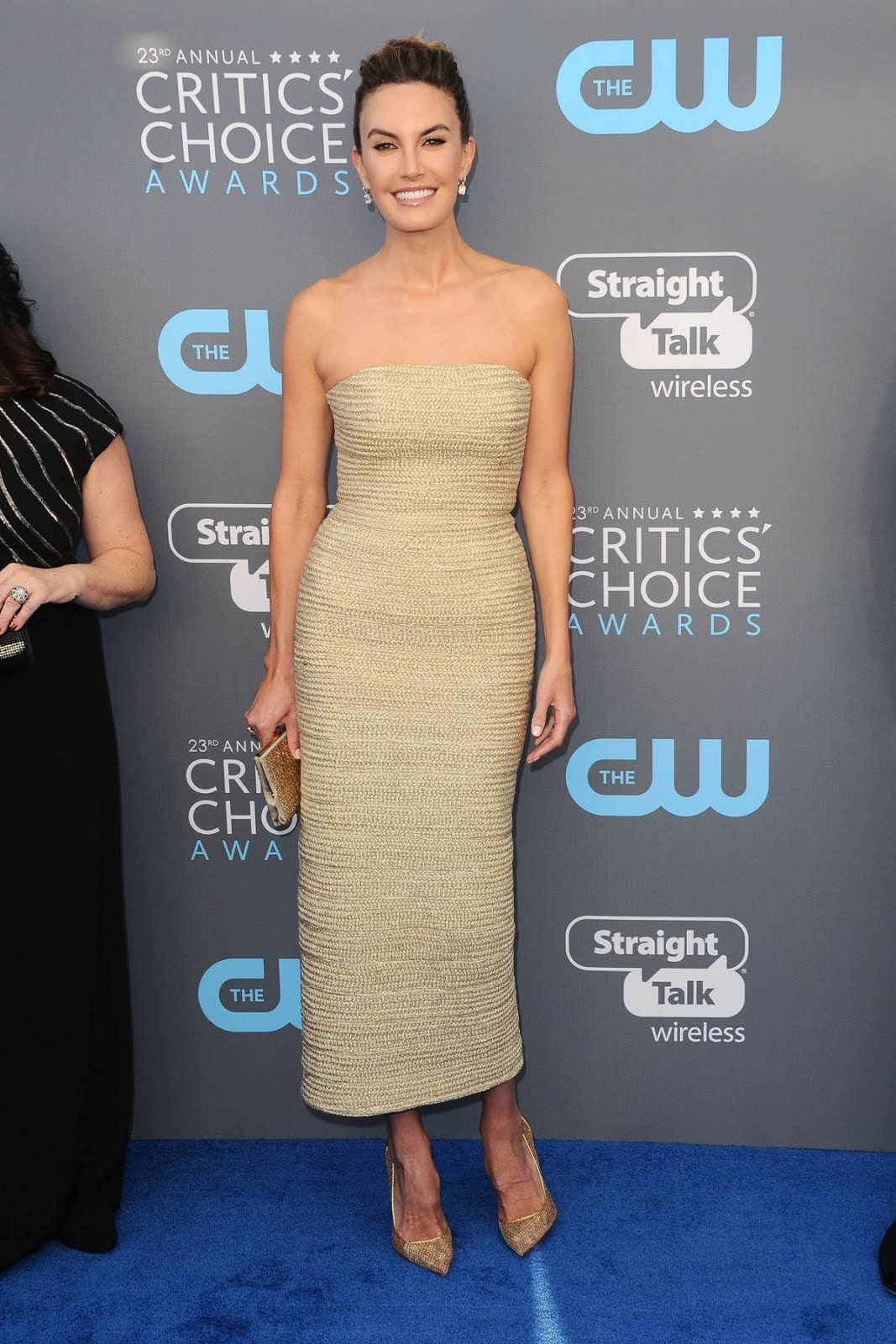 Elizabeth Chambers At 2018 Critics Choice Awards In Santa Monica