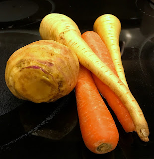 Root Vegetables - Rutabaga, Carrots and Parsnips