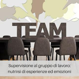 come psicologo psicoterapeuta propongo al gruppo dei lavoratori delle supervisioni durante le quali si parla di emozioni ed esperienze