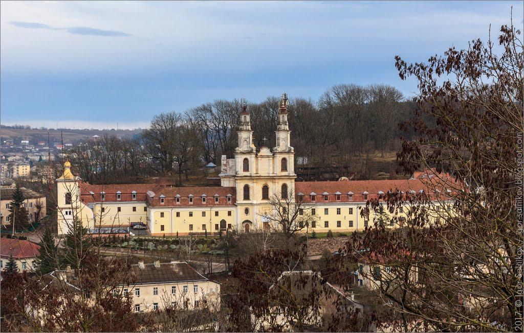 Бучач монастырь Тернополь область