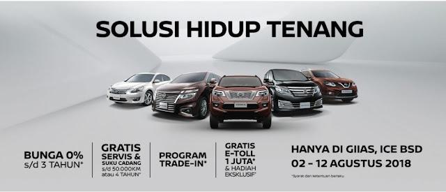 Promo Nissan GIIAS 2018