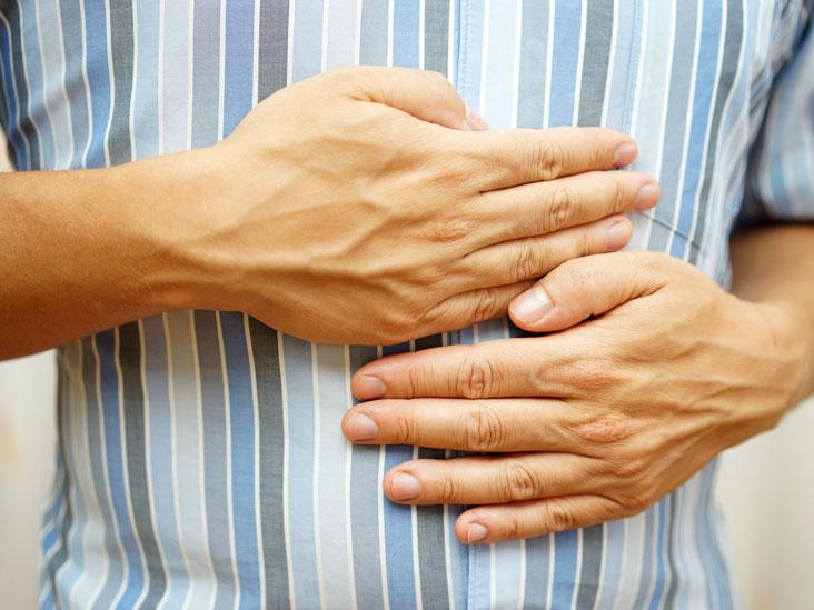 abcès abdominal symptômes