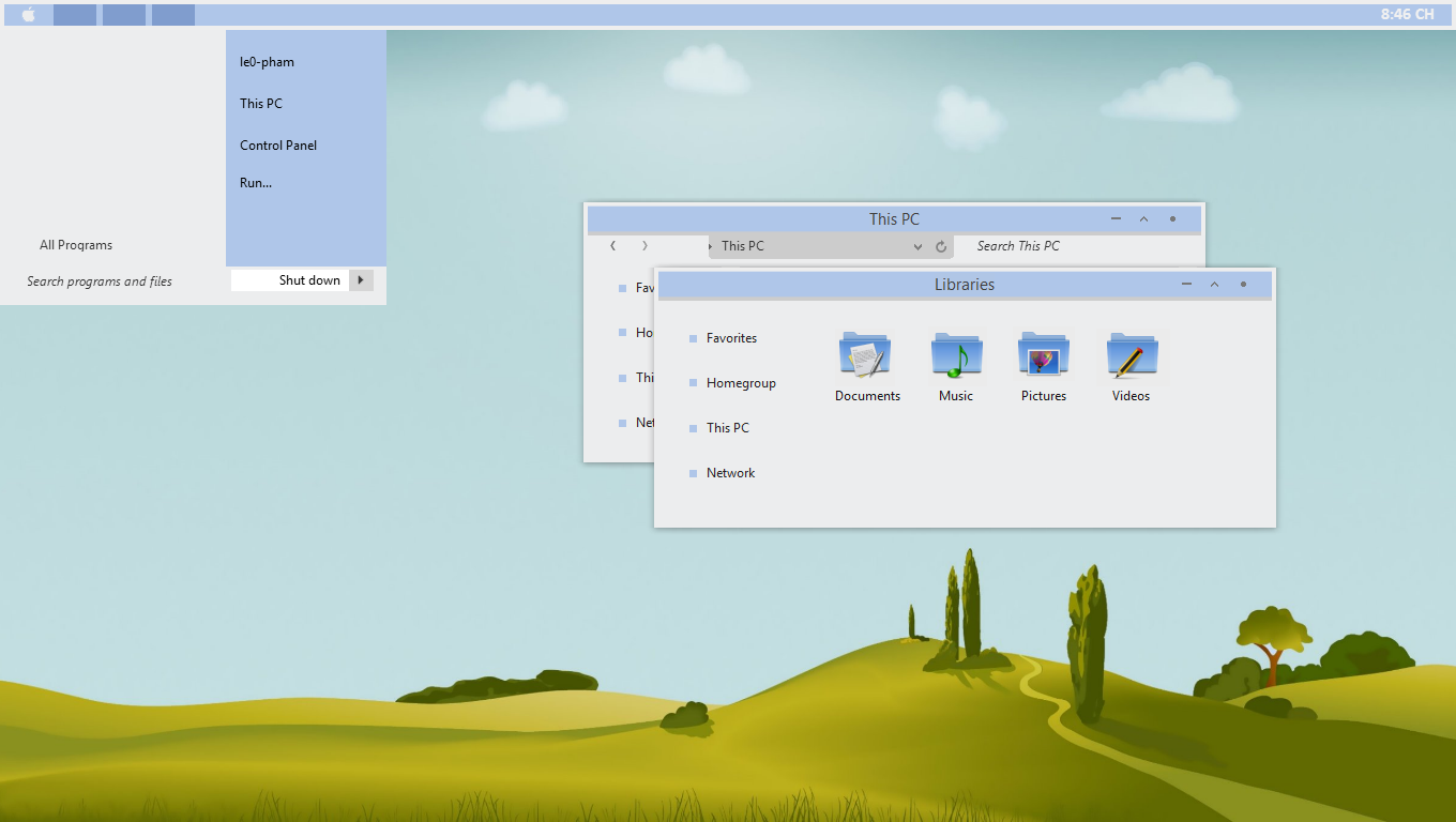 BLE Theme For Windows 8.1