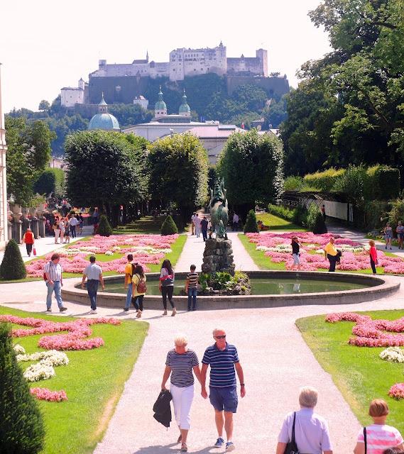 Salzburg - Mirabell slott