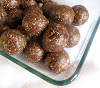 Raw Nut and Seed Chocolate Chunk Mint Energy Balls