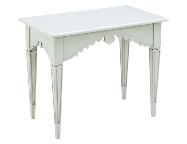 Swedish Tea Table from Swede Collection furniture company - found on Hello Lovely Studio