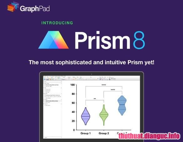 Download GraphPad Prism 8.0.2.263 Full Crack, số liệu thống kê mạnh mẽ và đồ thị 2D khoa học, GraphPad Prism, GraphPad Prism free download, GraphPad Prism full key,