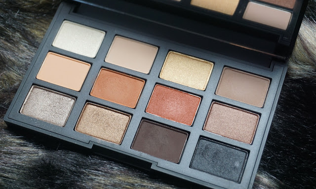 Nars Loaded Eyeshadow Palette (bellanoirbeauty.com)