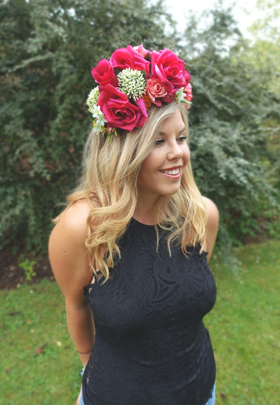 Leeds festival the blonde b my wonderful amazing beautiful flower crown izmirmasajfo Images