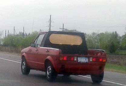 Bad VW Rabbit Pickup conversion