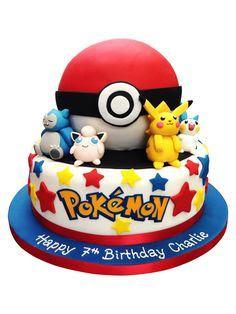 kue ultah berbagai macam pokemon
