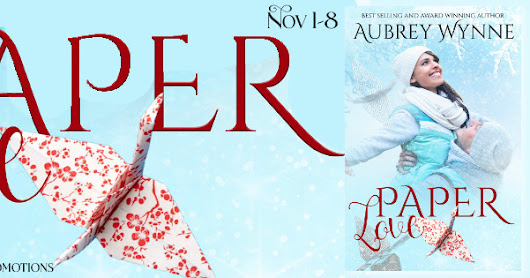 Paper Love (A Chicago Christmas Series Book 2) by Aubrey Wynne Promo Tour