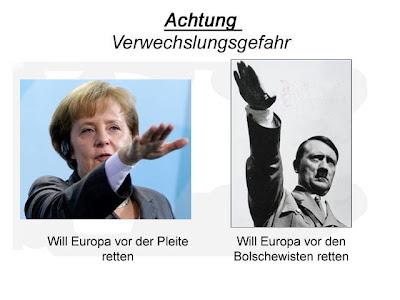 Angela Merkel Achtung Verwechslungsgefahr witzig