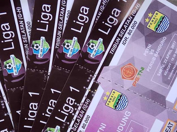 Tiket Persib VS  PS TNI 22 April 2017