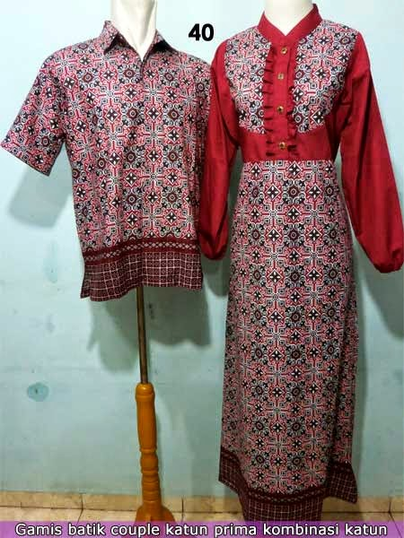 Grosir baju batik pekalongan online termurah
