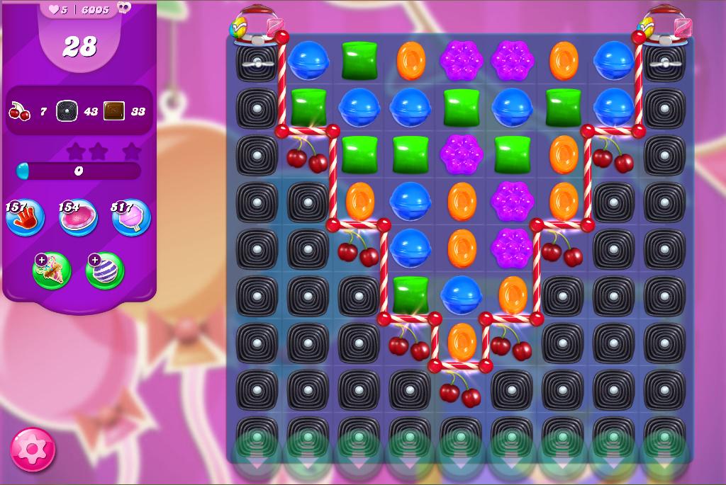 Candy Crush Saga level 6005