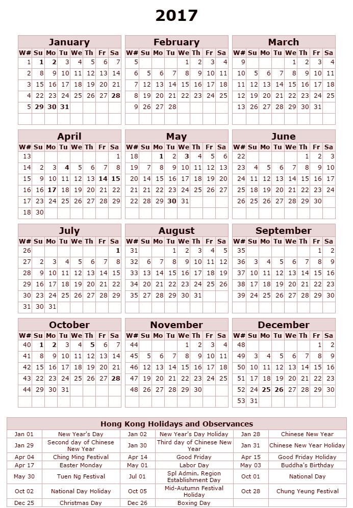 Calendar April Hong Kong : Free printable calendar hong kong holidays