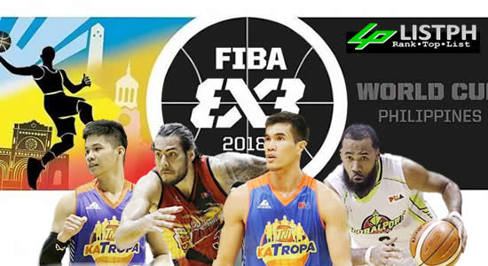 LIST: Gilas Pilipinas 3x3 Complete schedule, game results, roster FIBA 3x3 World Cup 2018