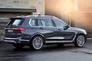 BMW X7 (2019) Rear Side