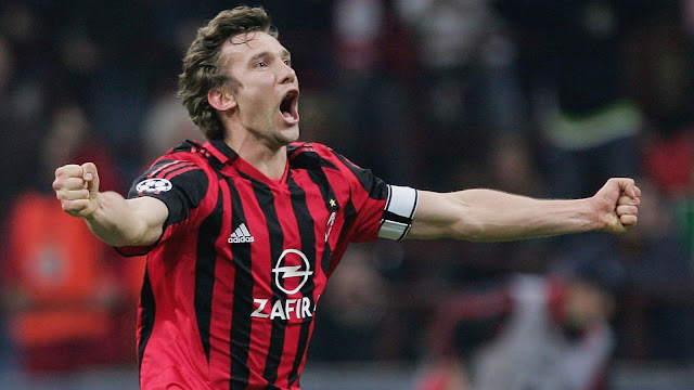 Best players in AC Milan History - Shevchenko