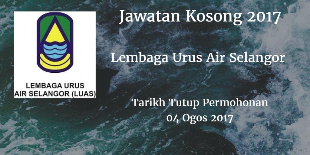 Jawatan Kosong LUAS  04 Ogos 2017