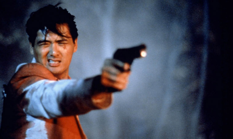 Chow Yun-Fat in THE KILLER (1989) von John Woo. Quelle: Film Workshop