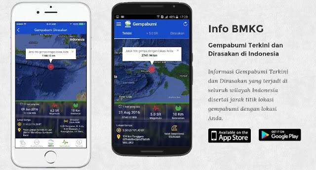 Aplikasi Info BMKG