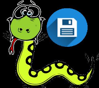 Python salvar script
