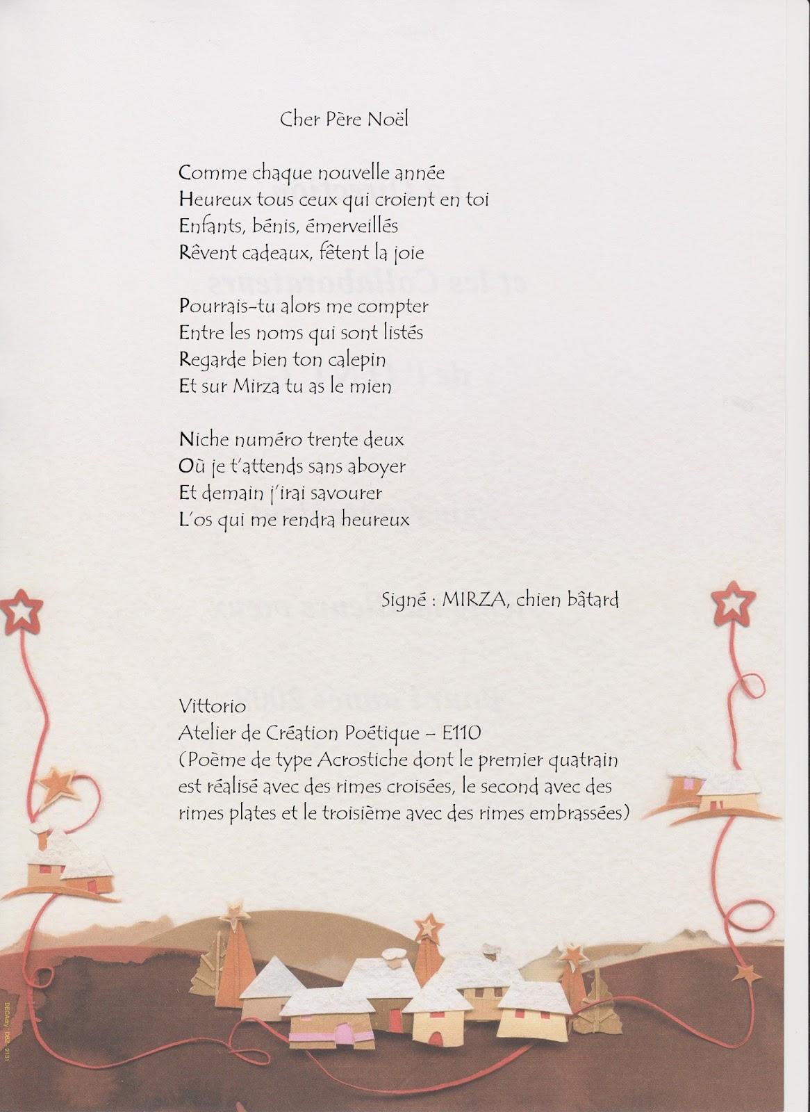Poeme Lettre Au Pere Noel.Ecrire Pastel Lettre Au Pere Noel N 4 Par L Atelier De