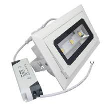 Foco led empotrable rectangular comercios 20 W