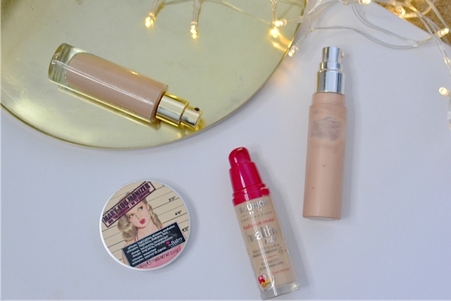 Beauty, dewy, summer glow, highlighter, millie mackintosh, millie mackintosh make up, getting dewy skin, YSL Touche Eclat Foundation, Bourjois Healthy Mix foundation, the balm mary lou manizer review, Becca shimmering skin perfecter,