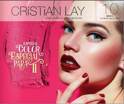 catalogo cristian lay campaña 10 2016