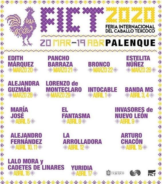 Palenque Feria Texcoco 2020 Boletos Conciertos y Agenda Edomex boletos baratos primera fila vip