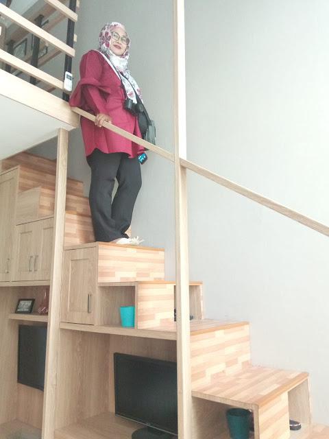 Atap yang tinggi membuat nyaman saatnya angkat koper