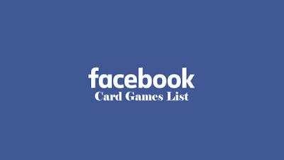 Facebook Card Games List – How To Play Facebook Messenger Games | Facebook Game List