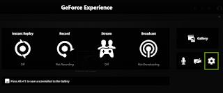 Lokasi Penyimpanan Geforce Experience
